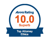 Avvo Top Ten Attorneys