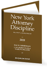 New York Attorney Discipline, 2020 Edition